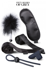 Kit bondage débutants - Fifty Shades Darker :  Fifty Shades Darker - Principles of Lust, le Kit d'accessoires bondage pour débutants.