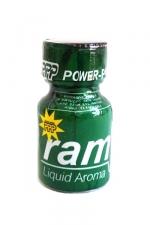 Poppers Ram 9ml : Le célèbre poppers Ram et son flacon vert! Un poppers puissant et pur à base d'isopropyle.